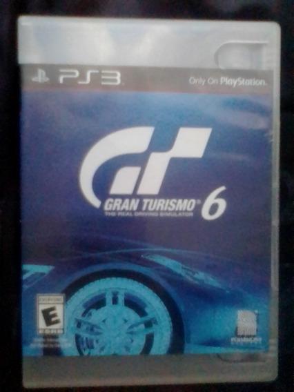 Gran Turismo 6 Ps3 - 100% Original - Americano
