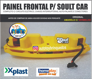 Soult Car 650 - Homeplay - Só O Painel Frontal Completo