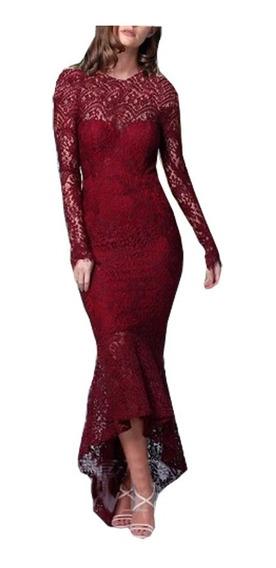 Vestido Longo Renda ,madrinha,casamento # Vl174