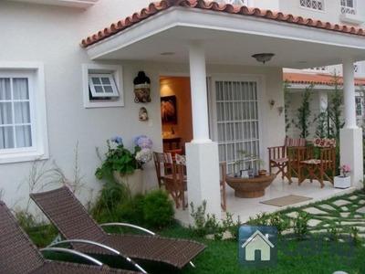 Casa Duplex Com Jardim, 2 Lindas Suítes No Jardim Mediterran - 693