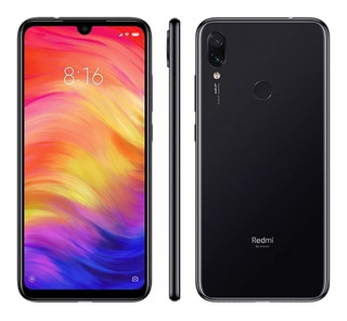 Smartphone Xiaomi Redmi Note 7 Preto 128gb 4gb Ram - Versão Global
