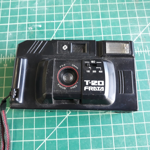 Câmera Antiga Frata T 20 Analógica