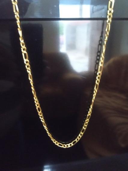 Corrente Cordão Banhado Em Ouro 18 K