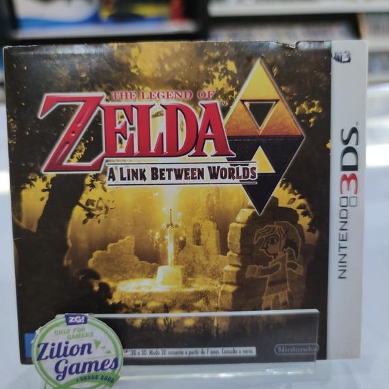 Zelda A Link Between Worlds + Luva Nacional Completo