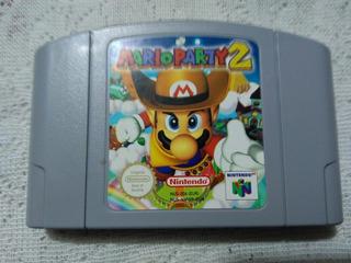 N64 Mario Party 2 Exelente Estado