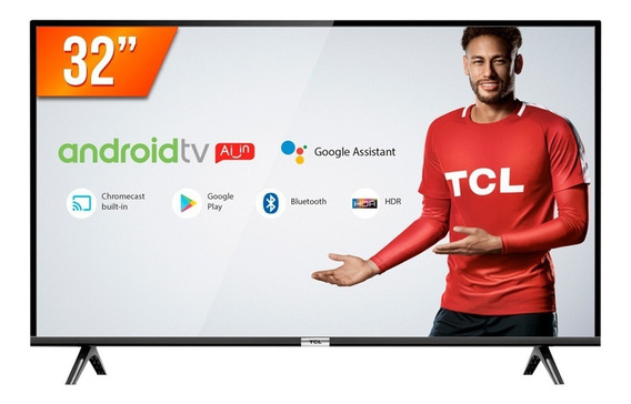 "Smart TV TCL S-Series HD 32"" 32S6500S"