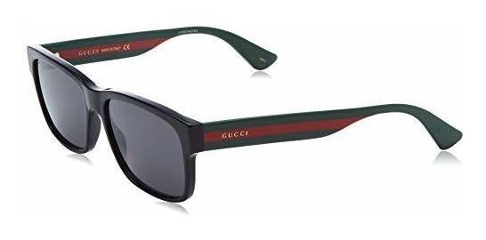 Gucci Gg0340s Tri-color - Gafas De Sol Rectangulares (2.283