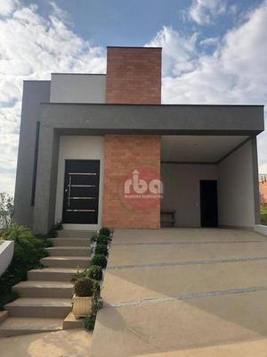 Casa Térrea A Venda E Locação No Condomínio Villagio Milano, Sorocaba. - Ca1240