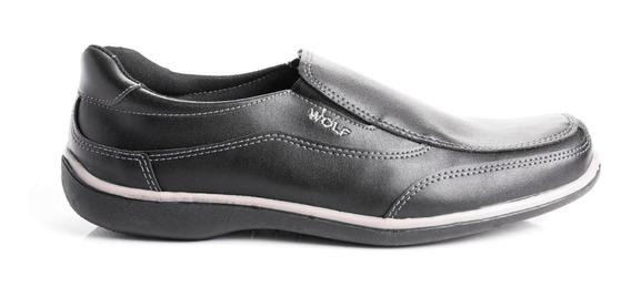 Zapatos Mocasines Hombre Vestir Urbano Nautico Cuero Pu