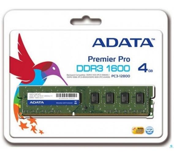 Memoria Ddr3 4gb A-data