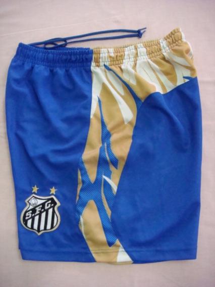 Calção Futebol Santos F. C. Sp Umbro Treino Antigo S-190