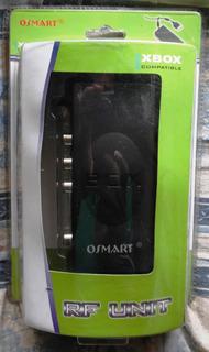 Unidad Rf Adaptador Para Tv Xbox Clasico Cable Av Sellado