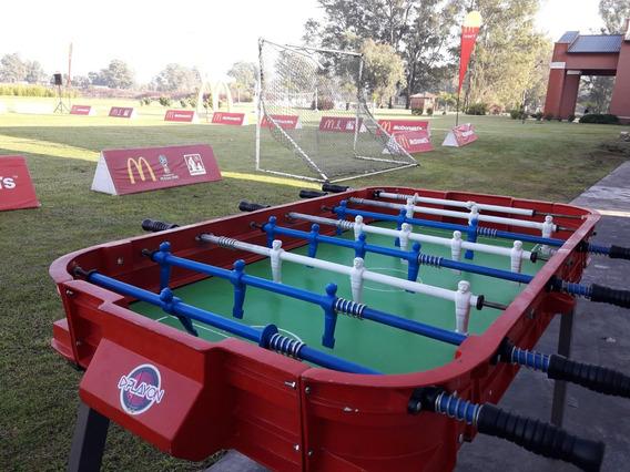Alquiler Metegol Tejo Juegos Ping Pong Mini Pool Jenga Sapo