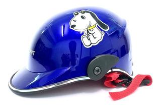 Casco Moto Infantil Correa Ajustable Unitalla