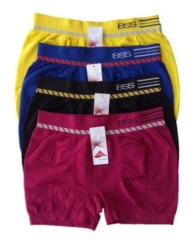 Cueca Boxer Sem Costura Bressan Kit Com 10 Cuecas Original