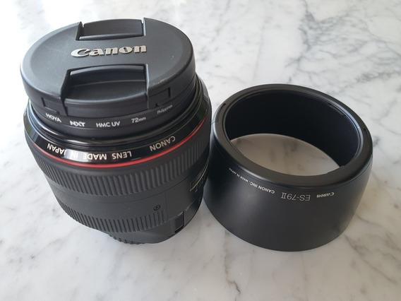 Lente Canon Ef 85mm F/1.2 L Ii Usm