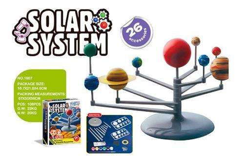 Kit De Ciencia Sistema Solar 1716402 Envio Full