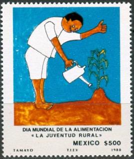 1988 Día Mundial D La Alimentación Sc 1567 Tamayo