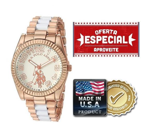 Relógio Feminino U.s Polo Assn. Original Usc40125