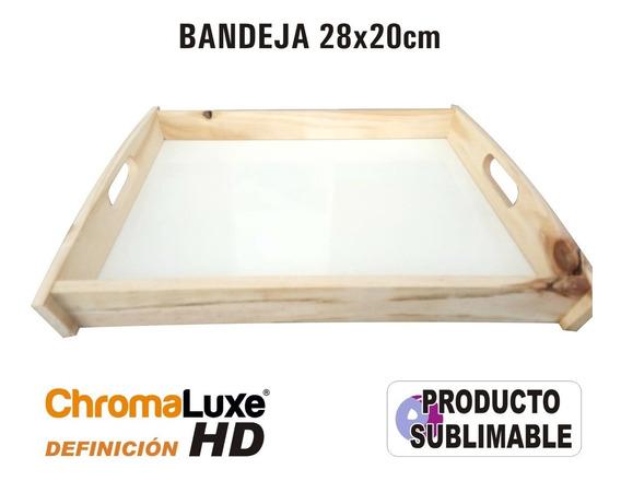 Bandeja Sublimable Con Definición Hd Chromaluxe 20x28cm