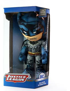Peluche Interactivo Con Sonido Batman Justice League Dc Ruz
