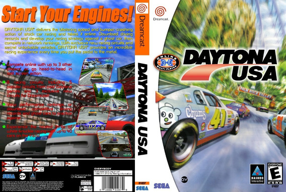Jogos De Corrida - Dreamcast - Patch - Selfboot - 4 Jogos