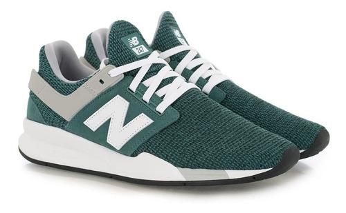 new balance 247 hombre verde
