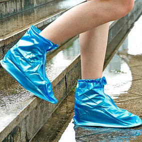 Botas Forros Impermeable Contra Agua Lluvia P/ Zapatos Tenis