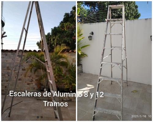 Escalera 12 Tramos De Aluminio