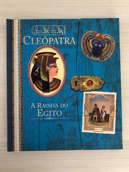 Cleópatra A Rainha Do Egito - Livro Novo
