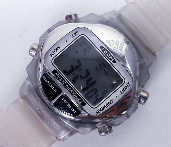 Relógio adidas 100 Lap Memory Esportivo Cronógrafo - Moleza!