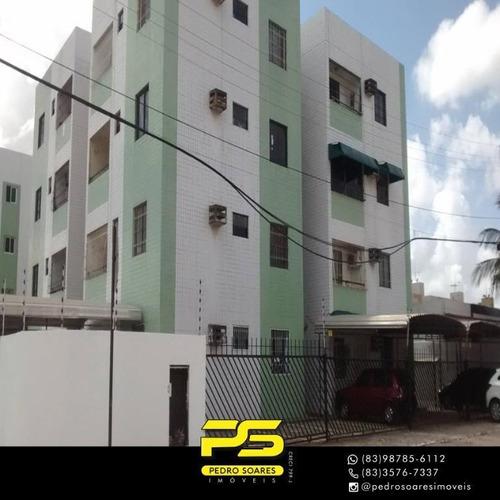 (repasse)  Apartamento Com 2 Dormitórios À Venda, Por R$ 140.000 - João Paulo Ii - João Pessoa/pb - Ap4313