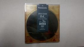 Dvd-ram 9.4gb - Panasonic 4.7gb/side Type4 - 3x- Lote 73 Pçs