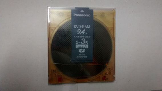 Dvd-ram 9.4gb - Panasonic 4.7gb/side Type4 - 3x- Lote 73 Pçs
