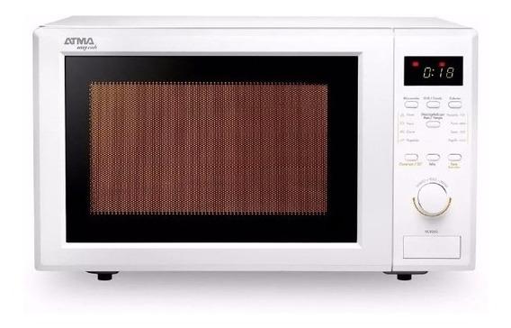 Microondas Atma Md1728 28lts 900w Grill Digital 8 Pot. Cuota