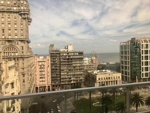 Alquiler Oficina Plaza Independencia Centro Montevideo 100 M2