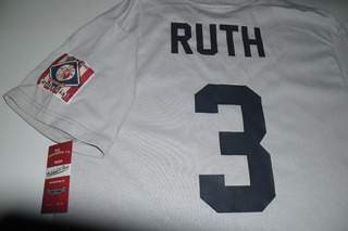 Playera Mlb New York Yankees Babe Ruth Vintage