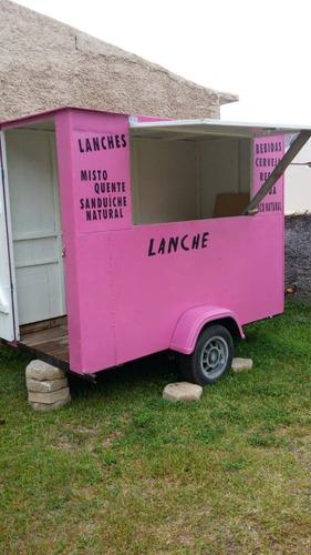 Trailer Comercial (food Truck; Carrinho Comercial)
