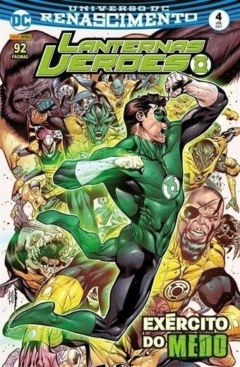 Lanternas Verdes: Renascimento, V.4 - Exército Do Medo