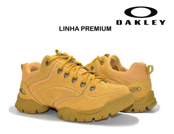 Tenis Bota Oakley Flak Low Cano Baixo/alto Frete Grátis Prom