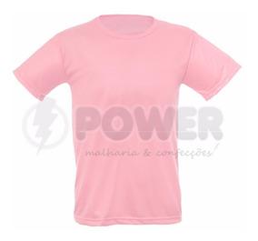 Lote Com 20 Camisas Para Sublimação Coloridas