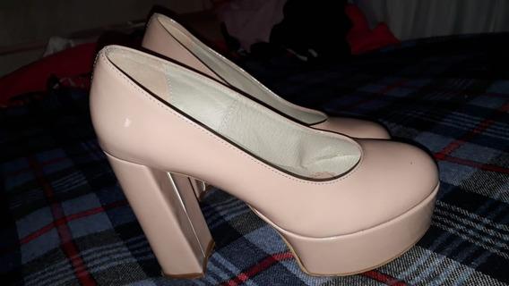 Zapatos Tacón Alto Luna Chiara Talle 39/40