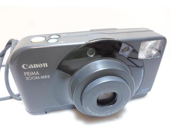 Camera Fotografica Canon Prima Zoom Minias/af (defeito)