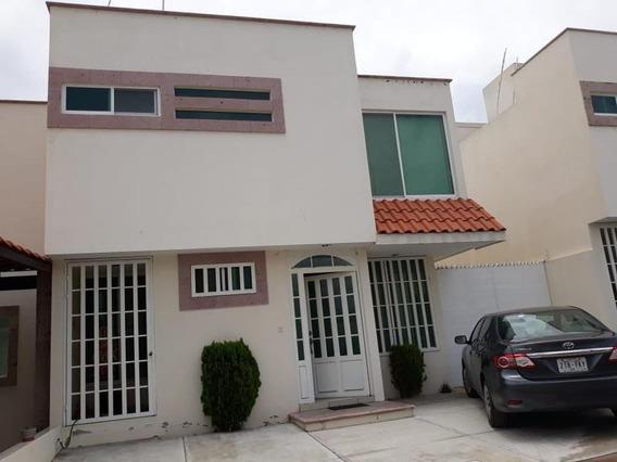 M&c Renta Hermosa Casa En Rancho Santa Monica Al Sur En Aguascalientes