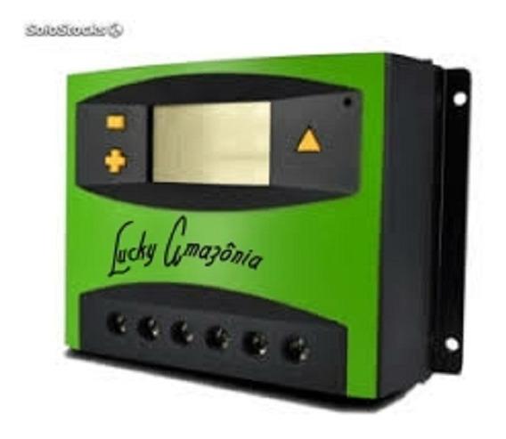 Regulador Controlador De Carga 40a Painel Solar 12v 24v Luck