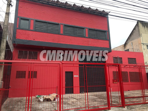 Galpão Comercial Para Alugar No Bairro Jardim Eulina Em Campinas - Gl00291 - 68407817