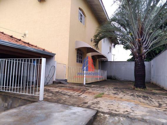 Sobrado Com 5 Dormitórios À Venda, 220 M² Por R$ 450.000,00 - Vila Nossa Senhora De Fátima - Americana/sp - So0151