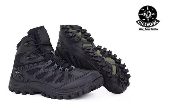 Bota Airstep Black Hiking 5700-1