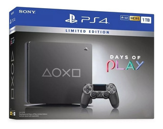 Consola Playstation 4 Days Of Play 1 Tb 1 Control Nuevo Ps4