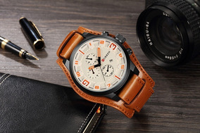 Relógio Masculino Curren - Original, + Caixa, Frete Gratis !